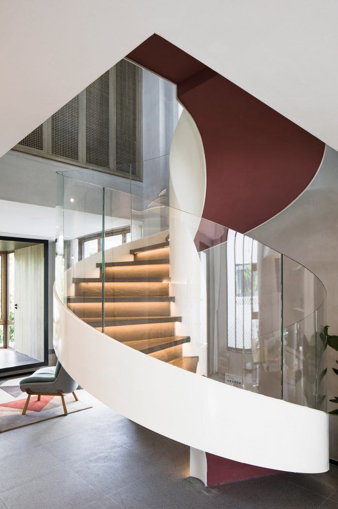 Staircase in B&B building © Peter Dixie, Lotan Architectural Photography