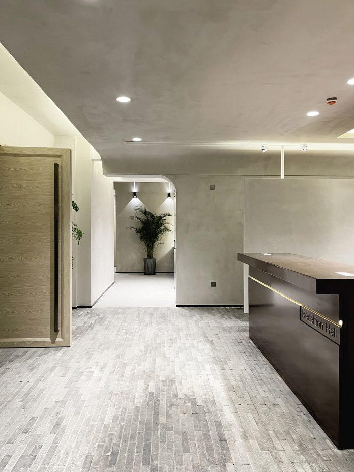 Foyer at public area © Yan Yang