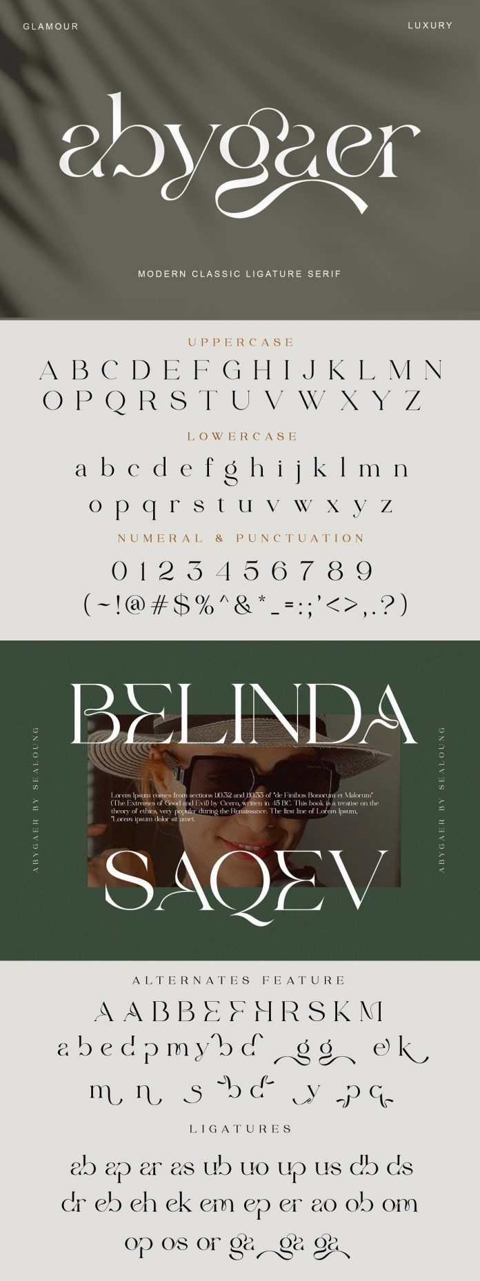 Abygaer font by Sealoung
