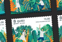 Celebrate Childhood with Nature - Stamp Series by Sathira Ravin