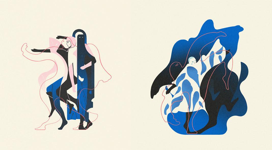 Fire Dances by Paulius Petrauskas