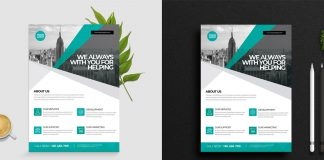 Minimal Business Flyer by PixWork