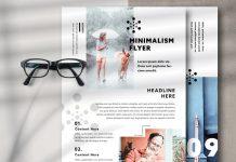Minimal Flyer InDesign Template