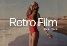 Retro Film Analog Photo Effect Mockup for Adobe Photoshop by Pixelbuddha