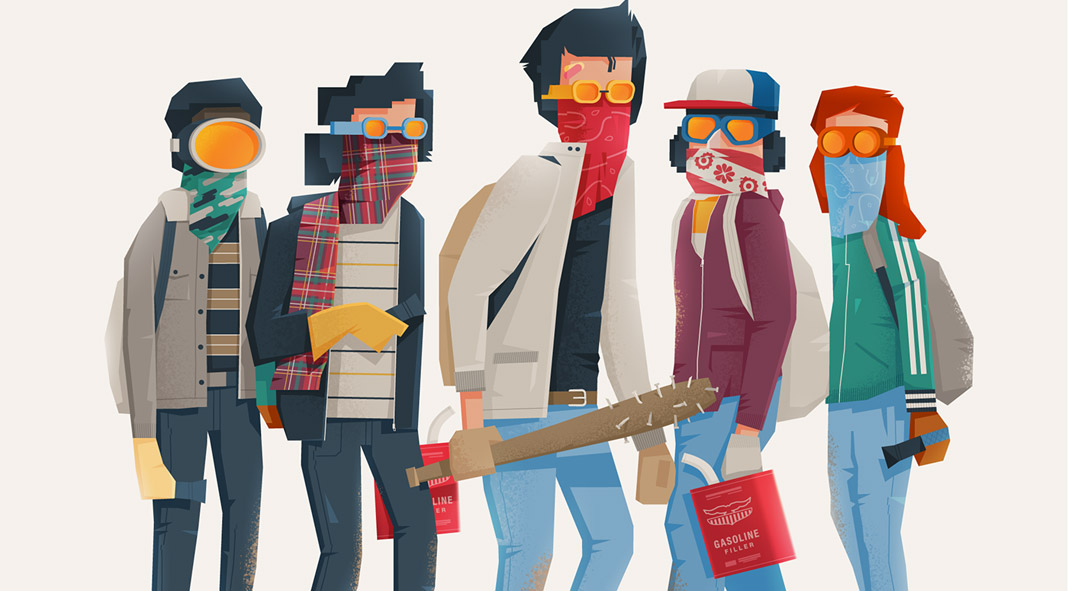 Stranger Things fan art by Maciek Blaźniak